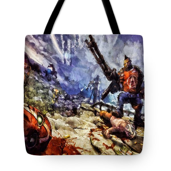 Don't Mess With The Gunserker Tote Bag