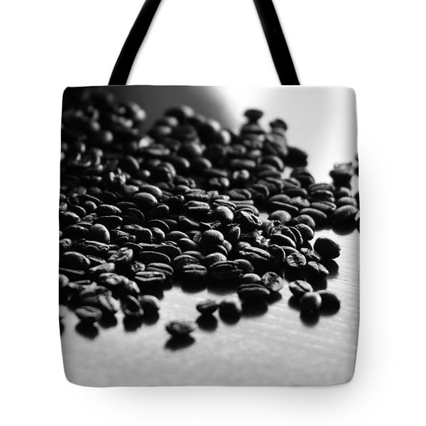 Tote Bag featuring the photograph Don't Spill The Beans by Lisa Parrish