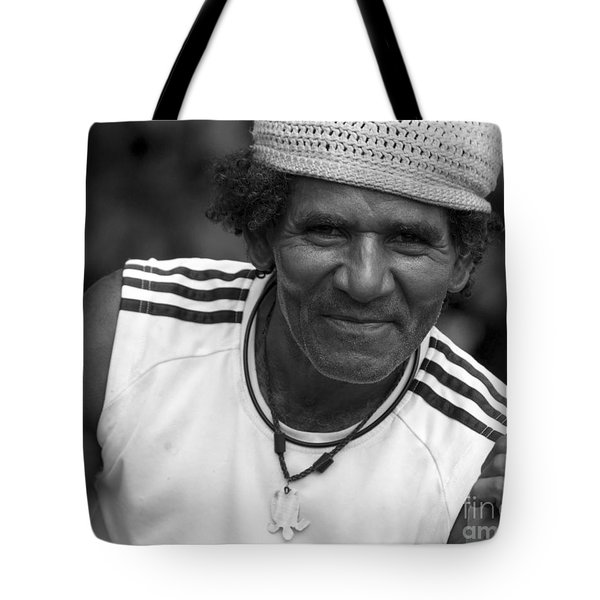 Don't Worry - Be Happy Tote Bag by Heiko Koehrer-Wagner
