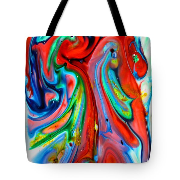 Tote Bag featuring the painting Dont Worry  Be Happy by Joyce Dickens
