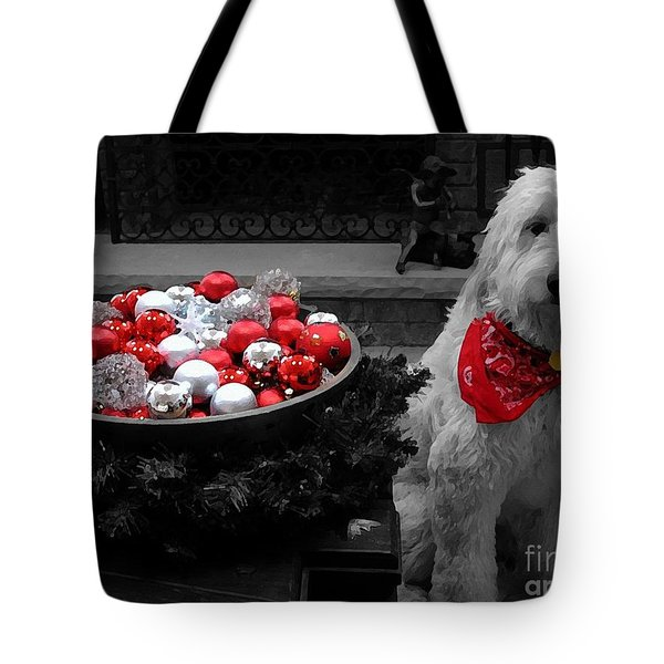 Doodle Painting Tote Bag