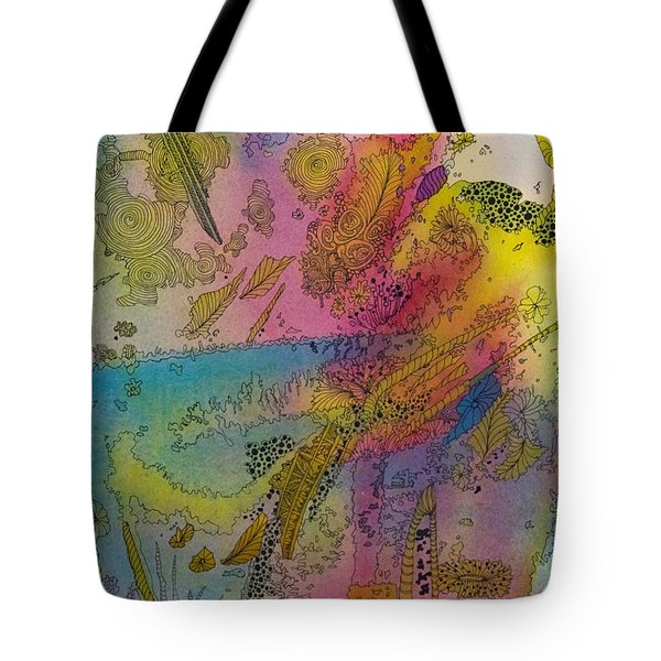 Doodle With Color Tote Bag