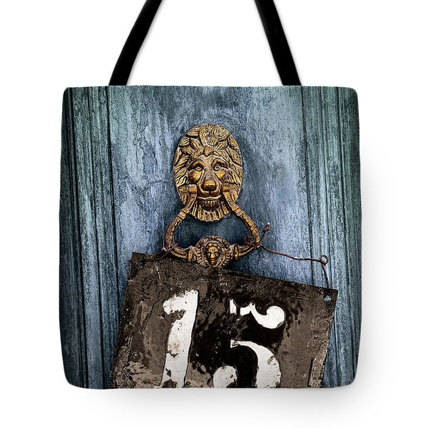Door 15 Tote Bag by Carlos Caetano
