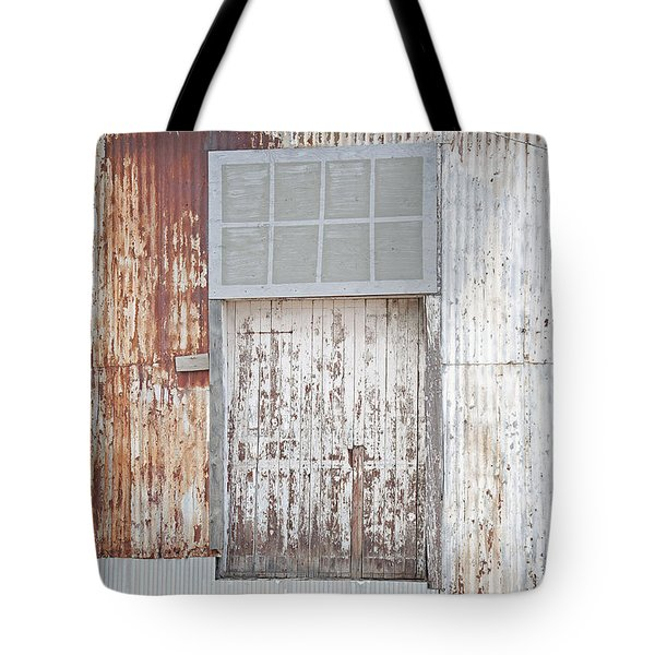 Tote Bag featuring the photograph Door 2 by Minnie Lippiatt