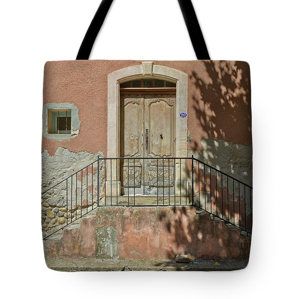 Door And Shadow Tote Bag