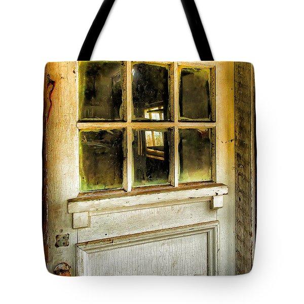 Door And Windows Tote Bag
