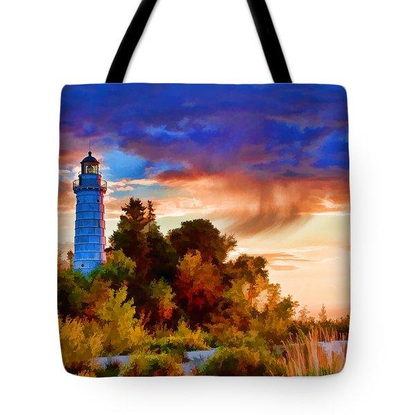 Door County Cana Island Wisp Tote Bag