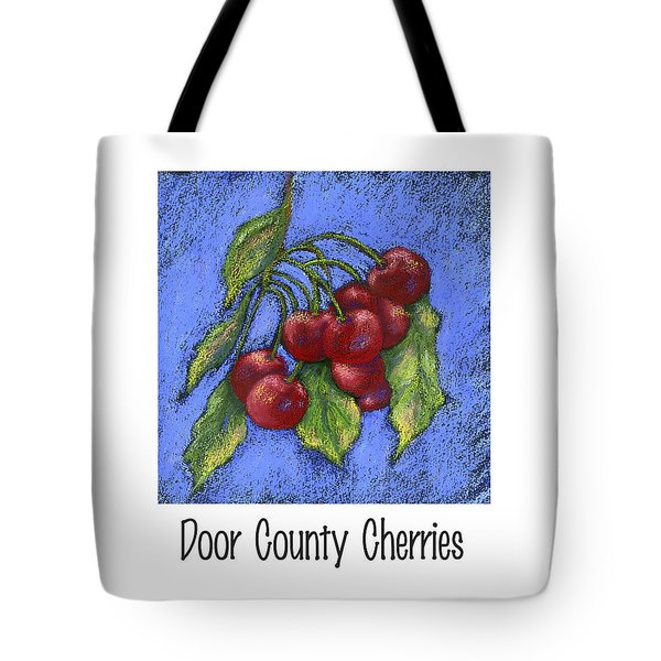 Door County Cherries Tote Bag