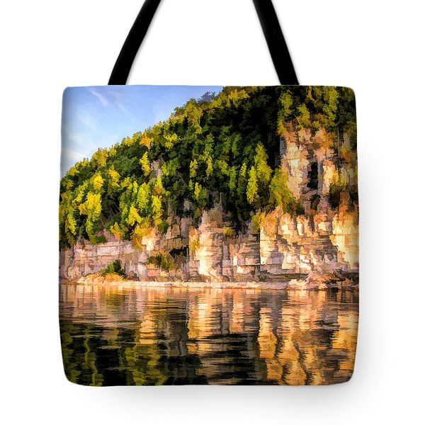 Door County Ellison Bay Bluff Tote Bag