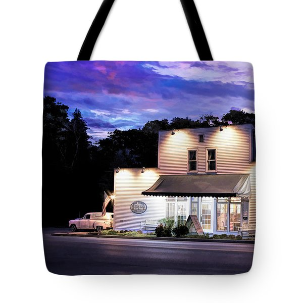 Door County Ice Cream Factory Tote Bag