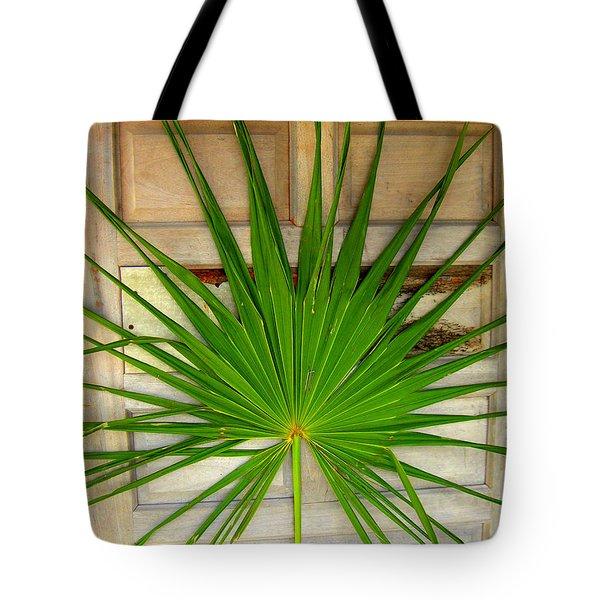 Door Decor Belize Style Tote Bag