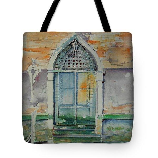 Door In Venice-italy Tote Bag