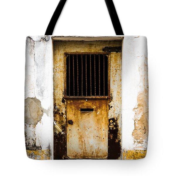 Door No 48 Tote Bag by Marco Oliveira