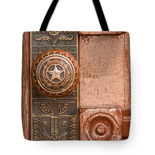 Door To Texas State Capital Tote Bag