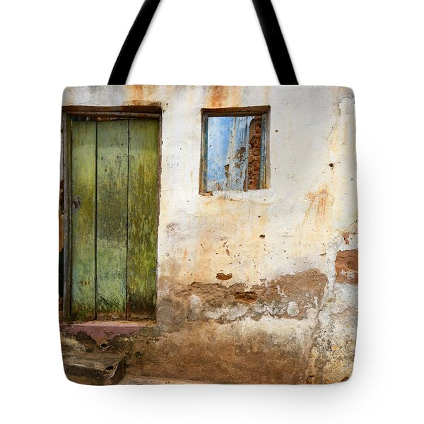 Doors And Windows Lencois Brazil 4 Tote Bag by Bob Christopher