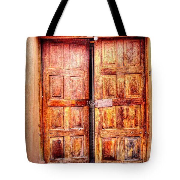 Doors To The Inner Santuario De Chimayo Tote Bag
