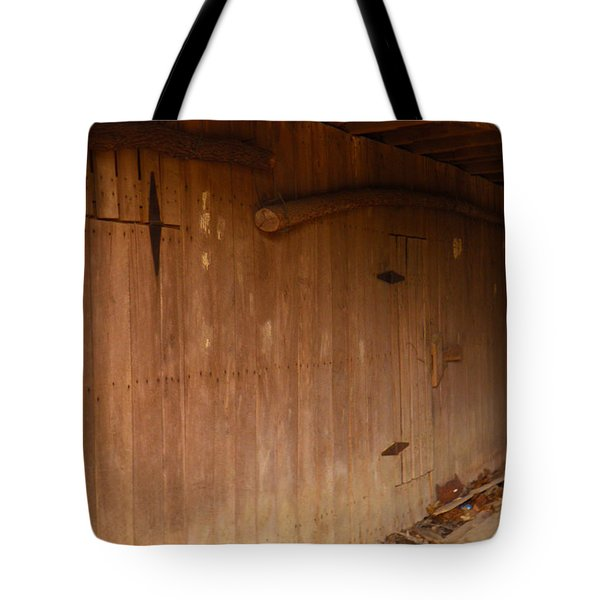 Tote Bag featuring the photograph Doors To The Past by Nick Kirby
