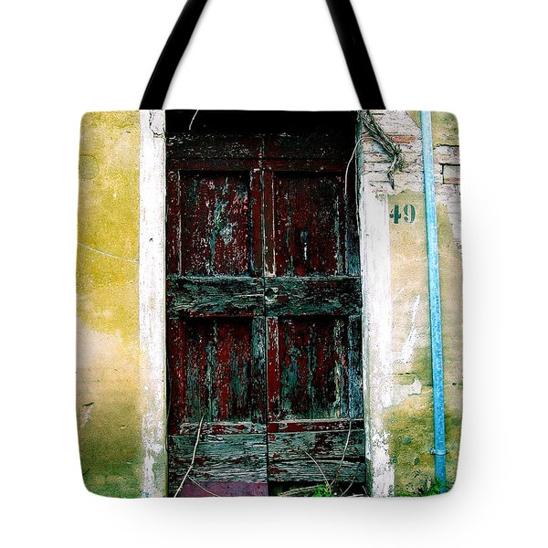 Doorway 49 Tote Bag