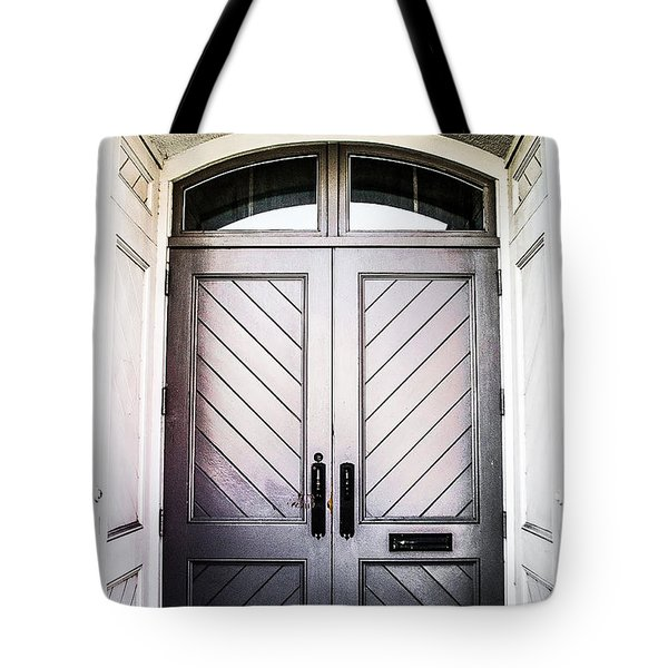 Doorway At Morris Avenue Tote Bag by Shelby  Young
