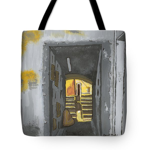 Doorway In Cinque Terra Tote Bag