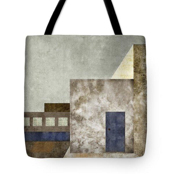 Doorway To Geometry Tote Bag