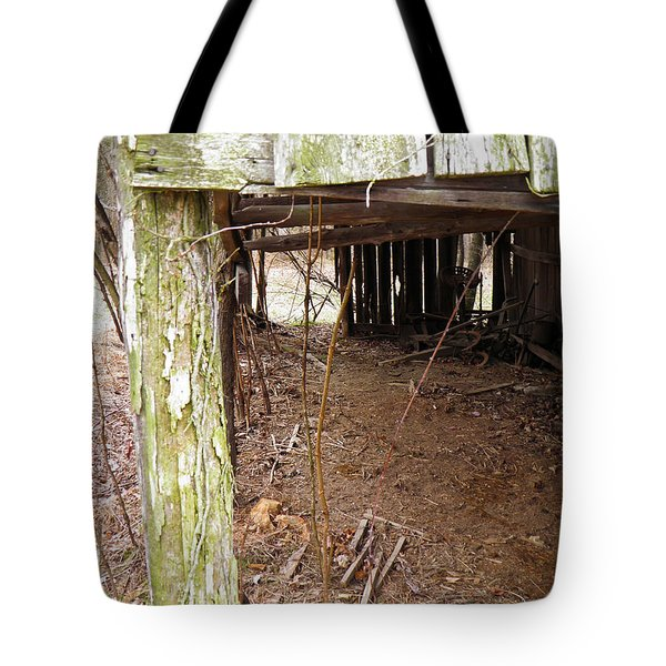 Tote Bag featuring the photograph Doorway To The Past by Nick Kirby