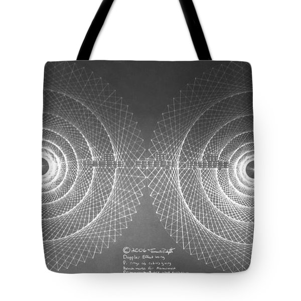 Doppler Effect Parallel Universes Tote Bag