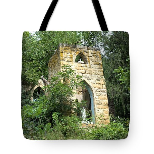 Dorchester Grotto Tote Bag by Bonfire Photography