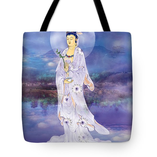 Tote Bag featuring the photograph Doro Guanyin by Lanjee Chee