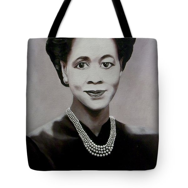 Dorothy Height Tote Bag by Chelle Brantley