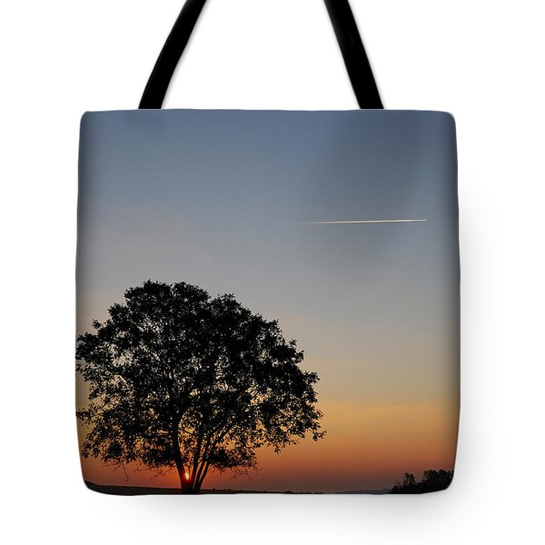 Tote Bag featuring the photograph Dorset Dawn by Wendy Wilton