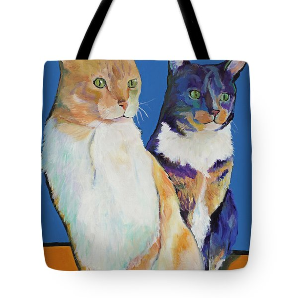 Dos Amores Tote Bag by Pat Saunders-White