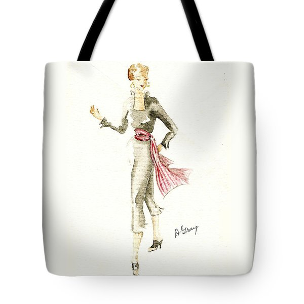 Tango Tote Bag by Beverly Solomon Design
