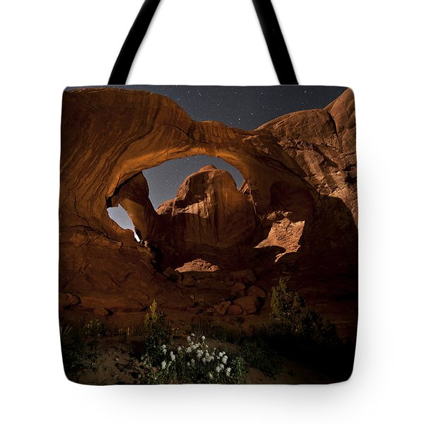 Double Arch In The Moonlight Tote Bag