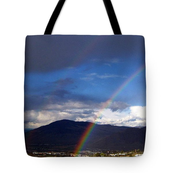 Double Delight Tote Bag by Kathy Bassett