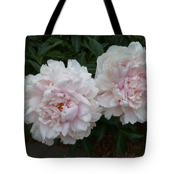 Double Delight Tote Bag by Lingfai Leung