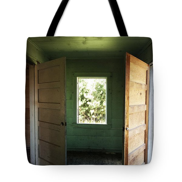 Double Entry Tote Bag
