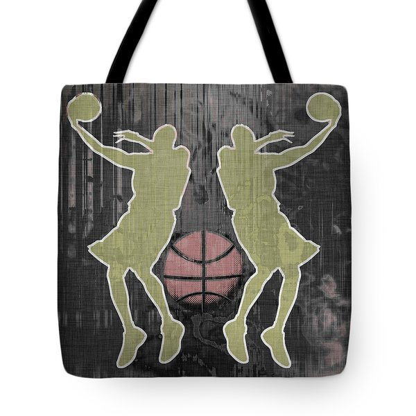 Double Hook Tote Bag by David G Paul