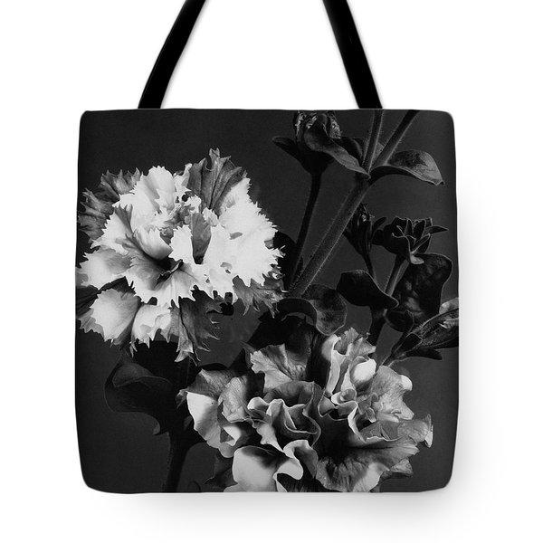 Double Petunias Tote Bag