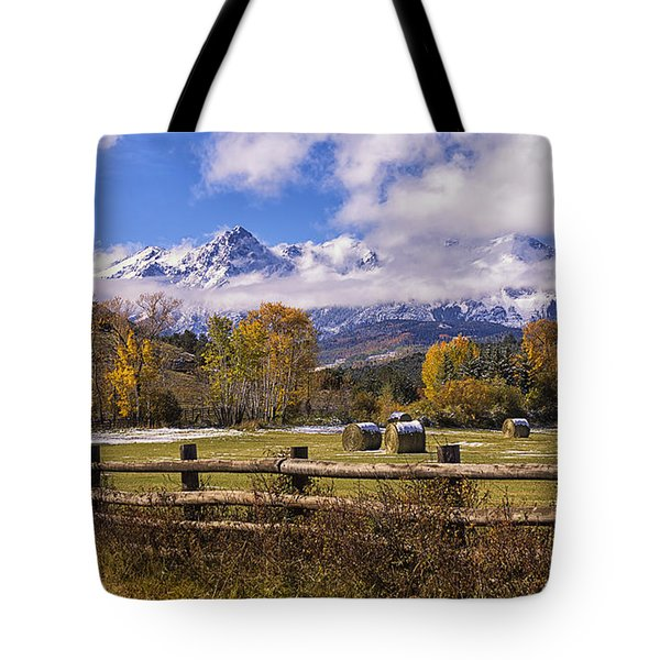 Double Rl Ranch Tote Bag by Priscilla Burgers