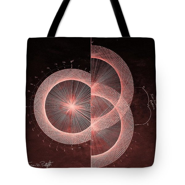 Double Slit Test  Tote Bag by Jason Padgett