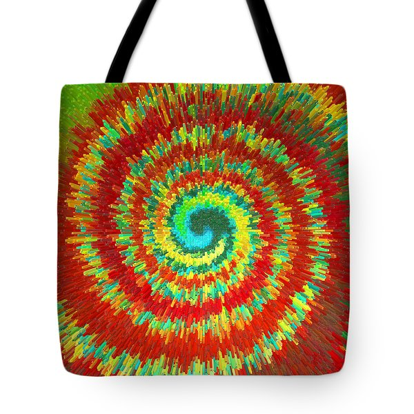 Double Spiral  C2014 Tote Bag
