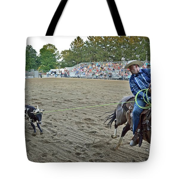 Double Team Ropers Tote Bag