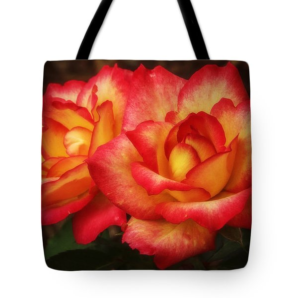 Double The Delight Tote Bag by Elizabeth Winter