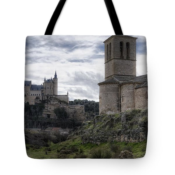 Double The View Tote Bag by Joan Carroll