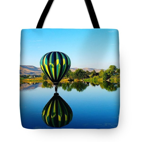 Double Touchdown  Tote Bag