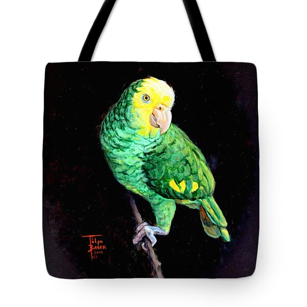 Double Yellow Headed Amazon Paco Tote Bag