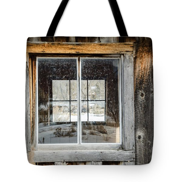 Doubling Up Tote Bag by Sue Smith