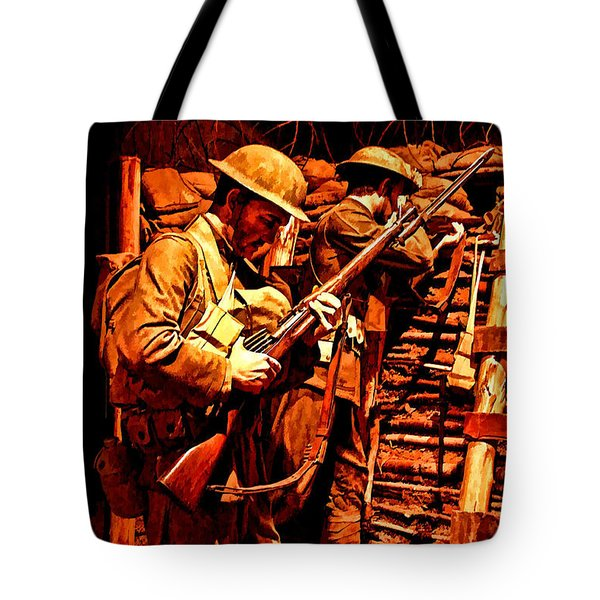 Doughboys  Tote Bag by Tommy Anderson