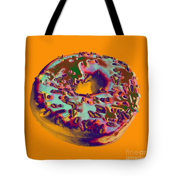 Doughnut Tote Bag by Jean luc Comperat